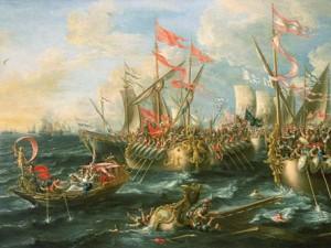 Сражение при Акциуме.