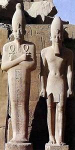 Бог-творец Амон Храм Амона-Ра в Карнаке