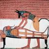 Переход Осириса в царство мертвых