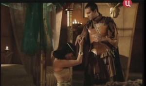 Клеопатра у ног Октавиана