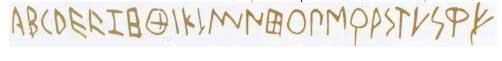 Этрусская писменность