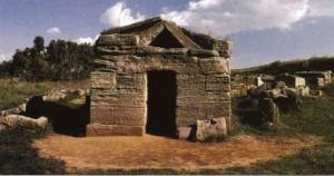 Гробница бронзовой статуэтки