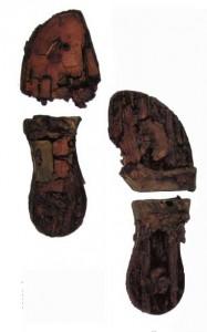 Сандалий длиной25 см из Бизенцо VI в. до н. э