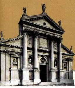 Церковь в Сан – Джорджо Маджоре в Венеции