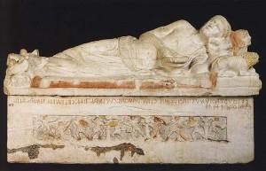 Саркофаг из «Гробницы Магната» в Тарквинии