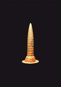 Такие золотые шляпы носили древнекельтские жрецы.