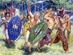 Гальсские воины