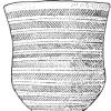 Глиняный сосуд (культура колоколовидных кубков). Лерид