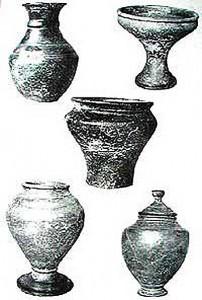 Кельтские сосуды, изготовленные на гончарном круге, из погребений Чехии и Моравии