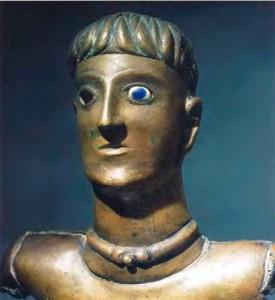 Бронзовая статуэтка бога или героя из Буре в парижской области