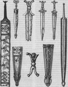 Мечи и кинжалы кельтской знати. V — II вв. до н. э.