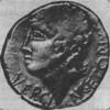 Изображение Верцингеторикса На гало-римской монете