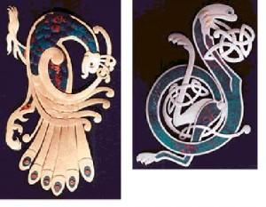 эллиптические и разнонаправленные спирали