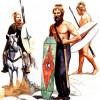 Свебские воины