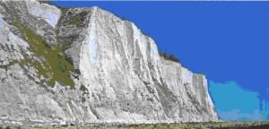 Белые скалы Альбиона, какими увидел их Цезарь, впервые оказавшись в  Британии
