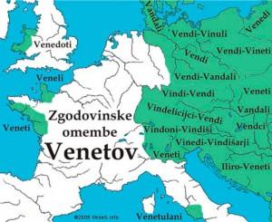 территория венетов