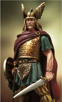 Верцингёториг — вождь племени арвернов, главнокомандующий коалицией галльских племен в войне против римлян.