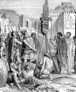 За восемь лет войны в руки Цезаря и его приближенных попали колоссальные богатства.