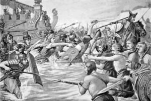 Высадка римских войск в Британии