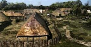 Реконструкция германского селения