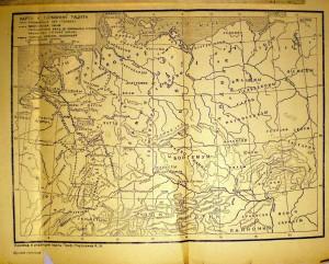карта Тацита - Германия