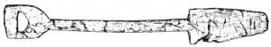 Деревянная лопата из Офструма (Фрисландия)