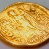 Монета из захоронений Хильдерика