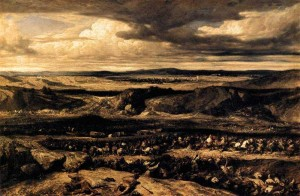 «Поражение кимвров» (1833г.) Александр Габриэль Декамп  Лувр, Париж