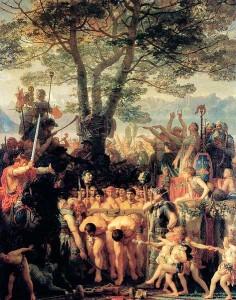 Капитуляция Римской армии