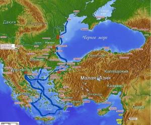 Морской набег готов в 269 году
