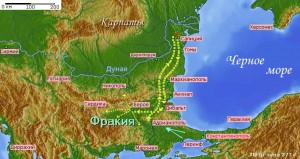 Готская война, лето-зима 377