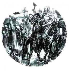 Папа Лев I  встречается с Атиллой