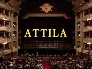 Опера «Аттила» - историческая драма Джузеппе Верди