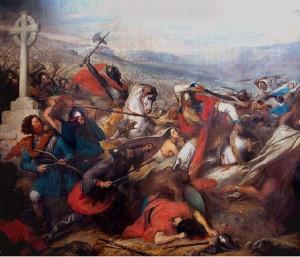 Битва при Пуатье в 732 г