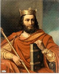 Жан-Луи Безар - Хильдеберт I, третий сын короля Хлодвига I и Клотильды Бургундской