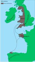 Миграция бриттов в 5 веке