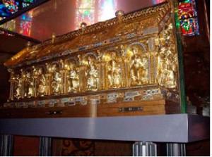 Саркофаг с останками Карла Великого