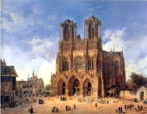 Реймский собор - там, где присягают короли
