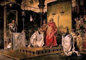 Обращение готского короля Реккареда в православие на III Толедском соборе