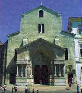 Собор Святого Трофима в Арле – место кроронации Бургундских королей