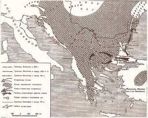 Византия и славяне во второй половине VII в.