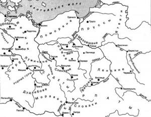 Западные славяне в IX—Х веках