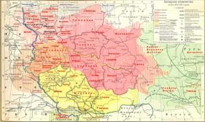 Западные словяне в 800 – 950 годы