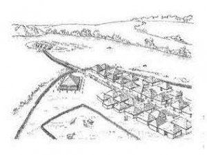Поселение в Гросс – Раден (реконструкция)