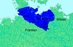 Владения Ободритов во время правления князя Дражко (795—809)