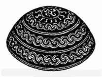 Славянская ритуальная чаша с Коловратом, найденная в Арконе.