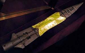 Пика св. Маврикия - дар императора Оттона III Болеславу Храброму. ( Венский музей истории искусств)