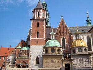 Кафедральный собор Святых Станислава и Вацлава на Вавеле, Краков, Польша.