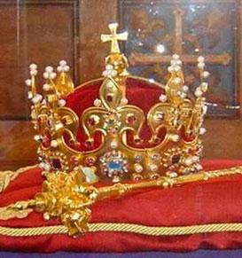 Корона Локетка (королевский музей в Вавеле).