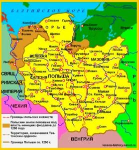 Польша в 13 веке